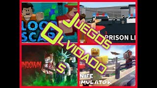 😢The 5 Forgotten Games in Roblox!! 😦😢