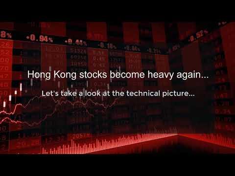 Hang Seng Index Turning Down