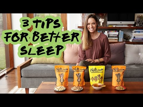 Tips for Better Sleep | Nuts.com