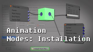 Tutorial: Introduction to the Animation Nodes Addon in Blender