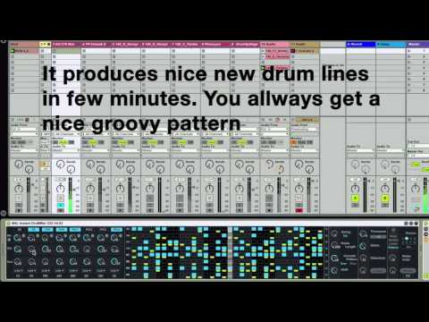 M4L Instant Drummer // New version (1.3)//