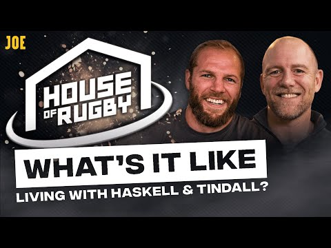 Living With James Haskell & Mike Tindall And Scaring Off Jonah Lomu | House Of Rugby S2 E18