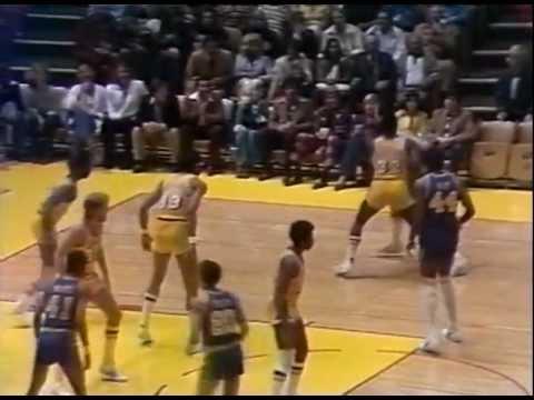 WCSF 1977 Game 5 Warriors@Lakers (Kareem Abdul Jabbar 45 points 18 rebounds)