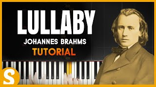 """Video How to play """"LULLABY"""" [Easy] by Johannes Brahms 