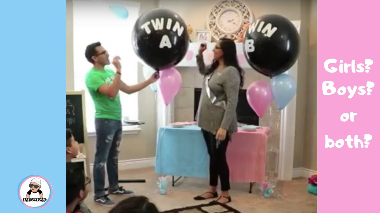 Baby Showers 2018 ~ Phim video twins of baby gender reveal