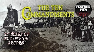The Ten Commandments (1923) full movie | SILENT MOVIE | Moses | full length bible movie for free