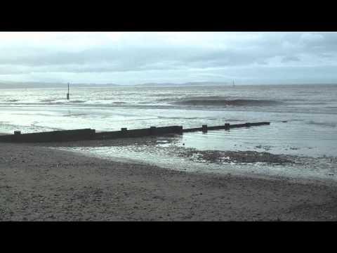 Rhyl beach, north wales, denbighshire