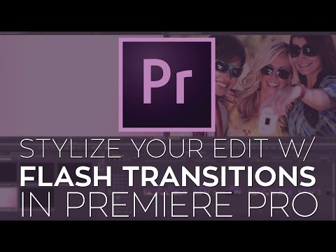 Use FREE 4K Flash Transitions to Stylize Your Edit in Adobe Premiere Pro