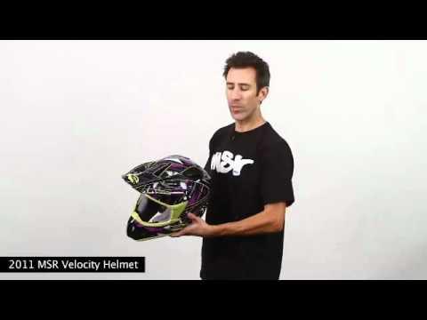 MSR 2011 Velocity Helmet at BustersDirtShop.com