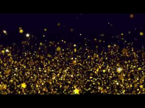 Shimmering Gold Stars Free Stock Video Background Loop ... - photo #34