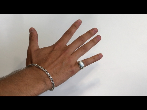 Request Video: 8in Silver Bracelet