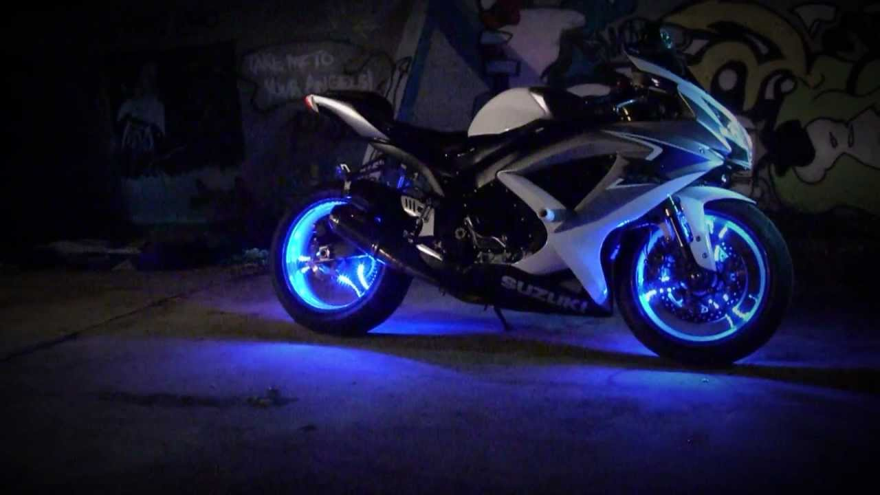 Yamaha R Purple Wheels