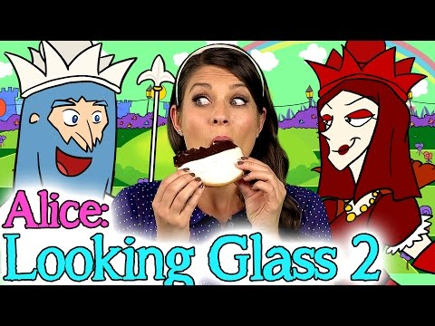 Alice Through The Looking Glass - Part 2 | Story Time With Ms. Booksy At Cool School