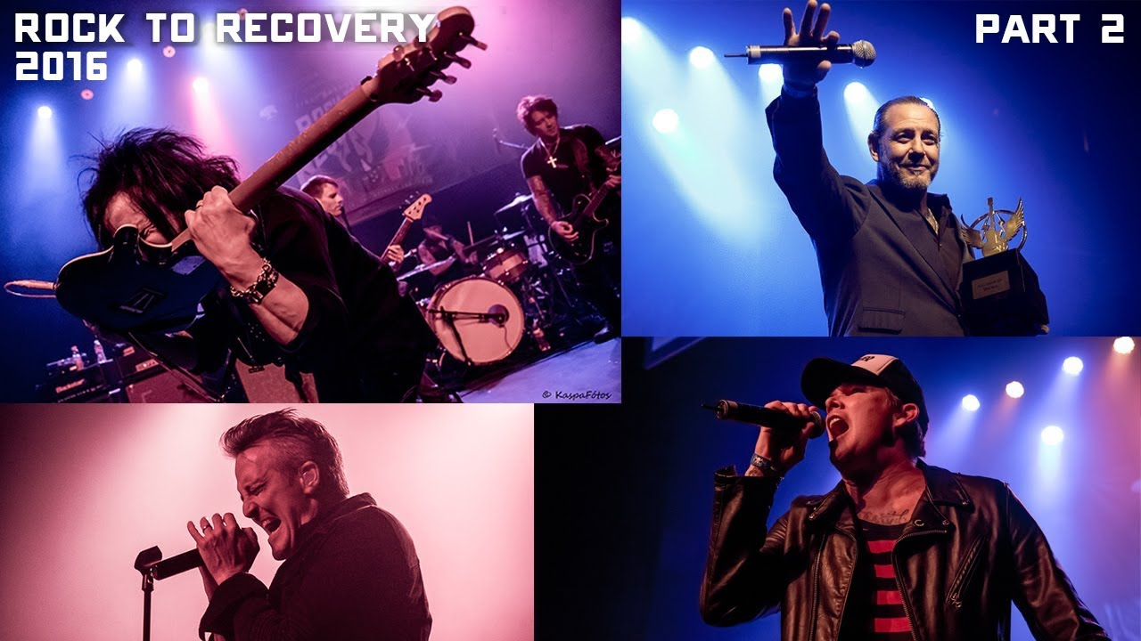 Download Rock to Recovery 2016 Highlights Part 2: feat. Filter, Mike Ness, Mark McGrath, Steve Stevens