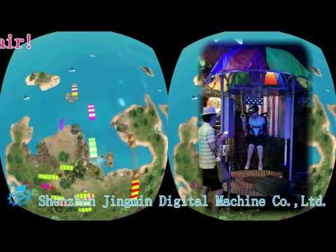 VR Skydiving — JingMin JMDM VR simulators