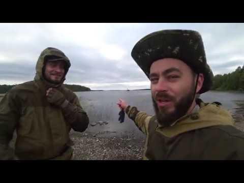 Белорусы в Карелии.Часть#2.Суоярви, Суойоки, Шуя, пороги Грива и Медвежий.Рыбалка
