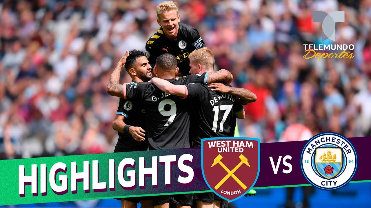 West Ham United vs. Manchester City: 0-5 Goals & Highlights | Premier League | Telemundo Deporte