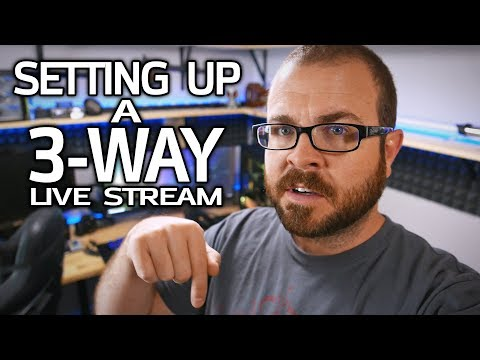 How To Set Up a 3-Way Charity Live Stream!