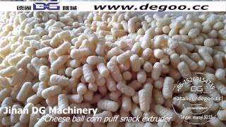 Jinan Dg Machinery-- Corn Puff Machine Cheese Ball Machine Cheese Ball Extruder