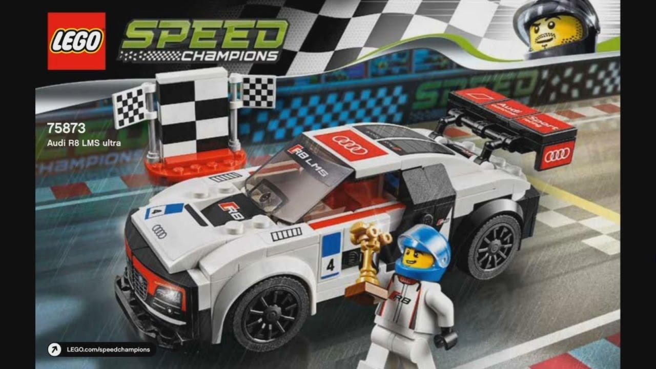 Lego Speed Champions 75873 Audi R8 Lms Ultra Instruction