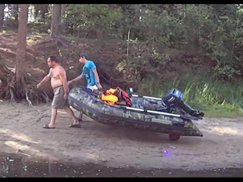 Колеса транцевые для надувной лодки своими руками