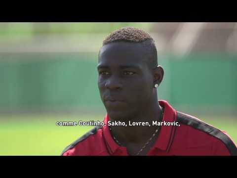 Interview de Mario Balotelli
