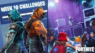 Fortnite: Battle Royale Season 6, Week 10 Free Banner Location