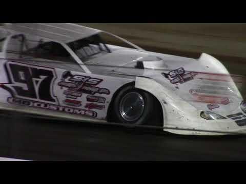 Lucas Oil Speedway Late Model Heat 4 10/6/17