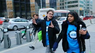 Amazing Race 🍁 Explore Toronto with Centennial College Students