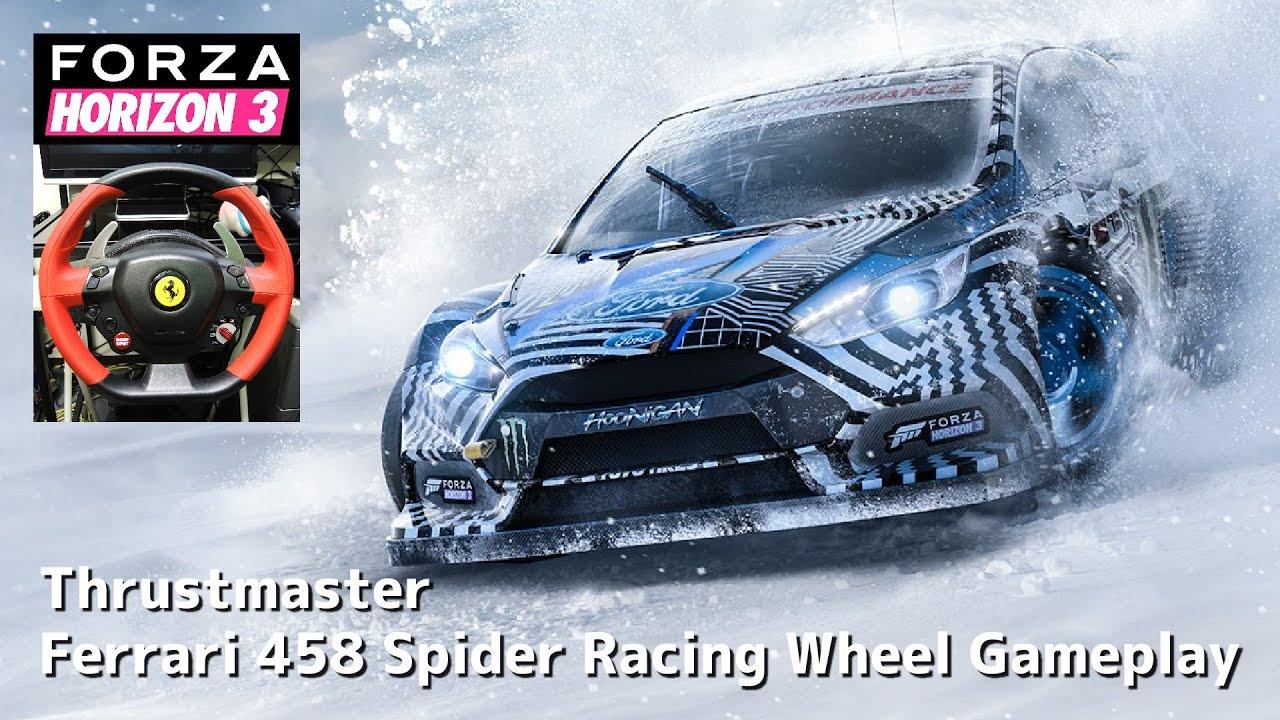 Racing 458 Wheel Spider Ferrari Thrustmaster