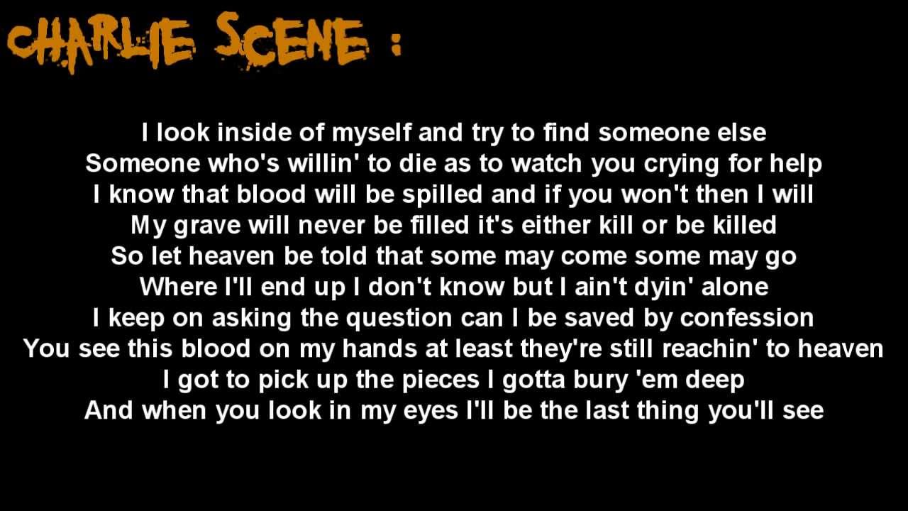 Hollywood Undead - I Don't Wanna Die [Lyrics]