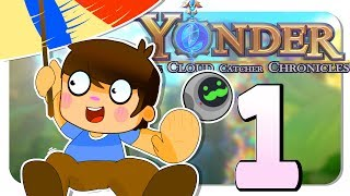 WELCOME TO GEMEA | Yonder: The Cloud Catcher Chronicles (Let's Play Yonder Gameplay PC Walkthrough)