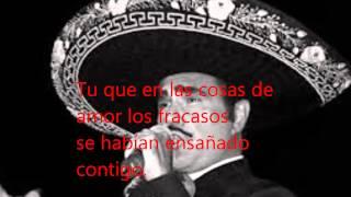 Tan Facil Que Hubiera Sido (con letra) - Vicente Fernandez