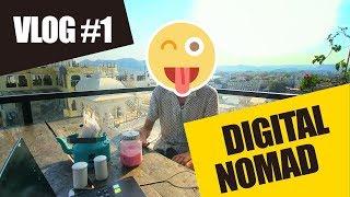 VLOG#1 - Être digital nomad et comment travailler en voyageant