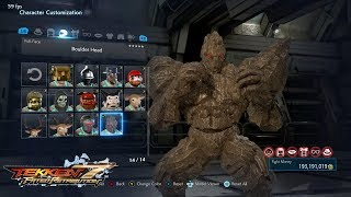 Tekken 7 (PS4) - Jack Full Character Customization (All Unlocked)