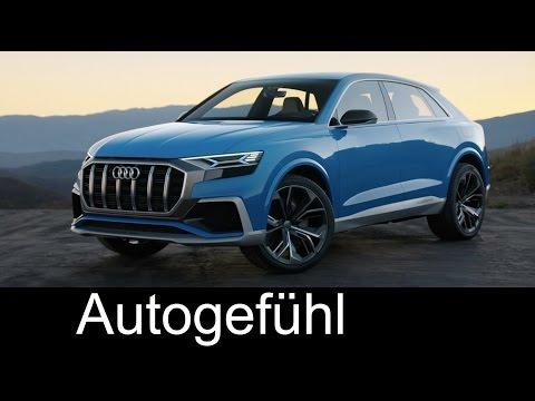 Audi Q8 e-tron concept Preview Exterior Interior - Autogefühl