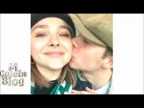 Smitten Brooklyn Beckham and Chloe Moretz post first loved-up selfies since rekindling the