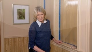 ASK MARTHA Adding Color to Shelving - Home How-To Series - Martha Stewart