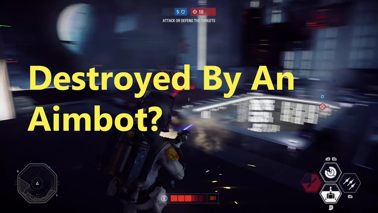does everyone use an aimbot in battlefront 2