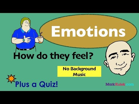 Express 8 Important Emotions in English | English Speaking Practice | ESL | Learn The Basics