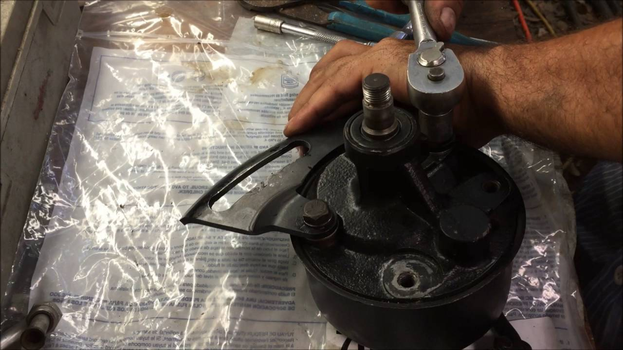 small resolution of gm big block chevrolet power steering pump install how to chevelle diy