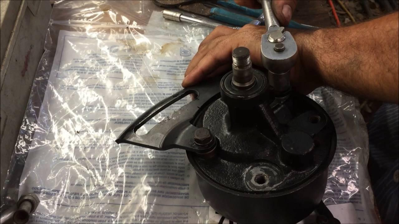 medium resolution of gm big block chevrolet power steering pump install how to chevelle diy