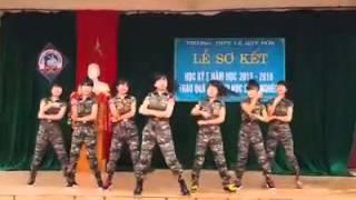 Nhảy Trường sơn đông trường sơn tây nữ sinh LÊ QUÝ ĐÔN