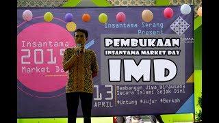 Gambar cover pembukaan IMD 2019 oleh kepsek SDIT Insantama Serang