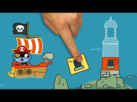 Pango Pirate - Fun Treasure Hunt Game For Kids - Top Best Apps For Kids