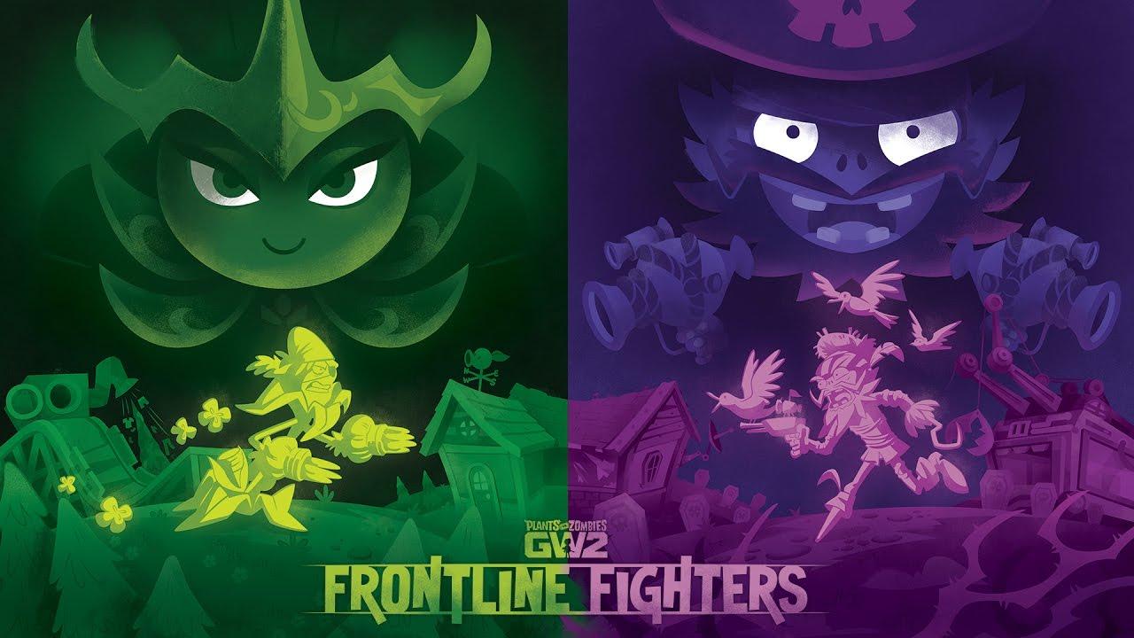 Frontline Fighters Trailer Reaction Plants Vs Zombies Garden