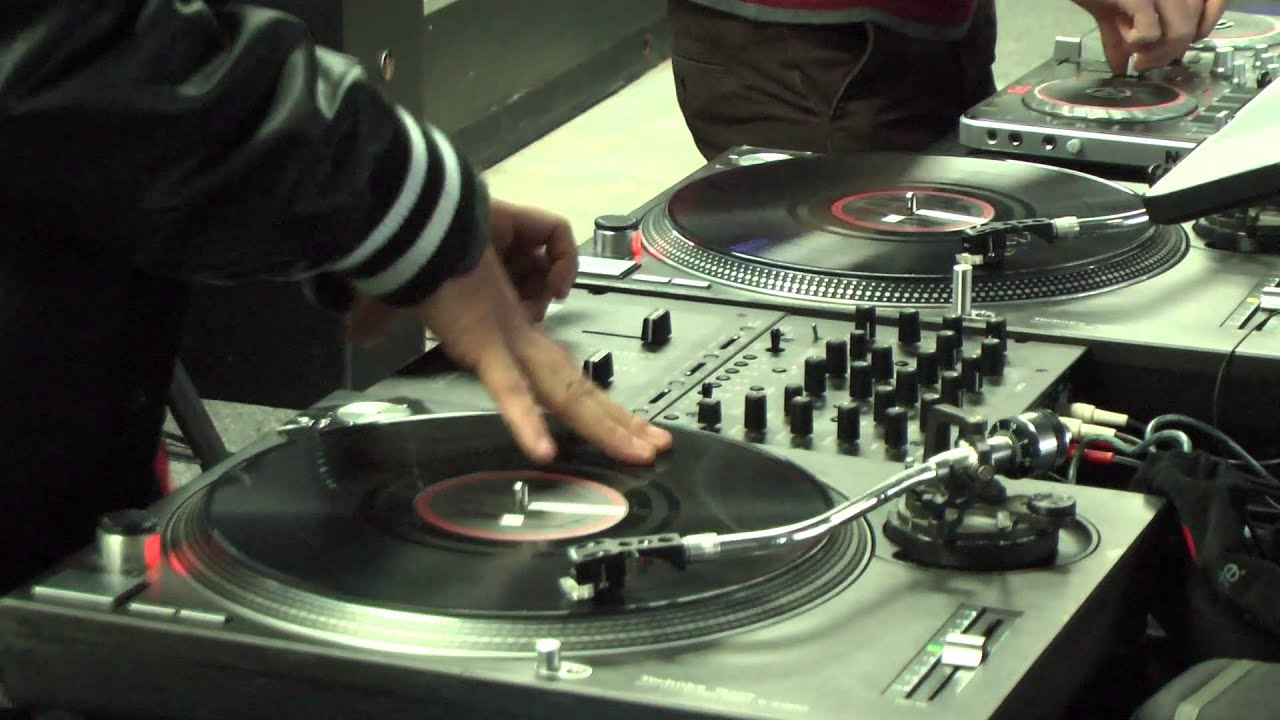 Kids Learn The Art Of Spinning Records At DJ Spin Academy