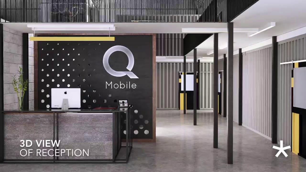 Q Mobile Warehouse Architecture Design and Construction