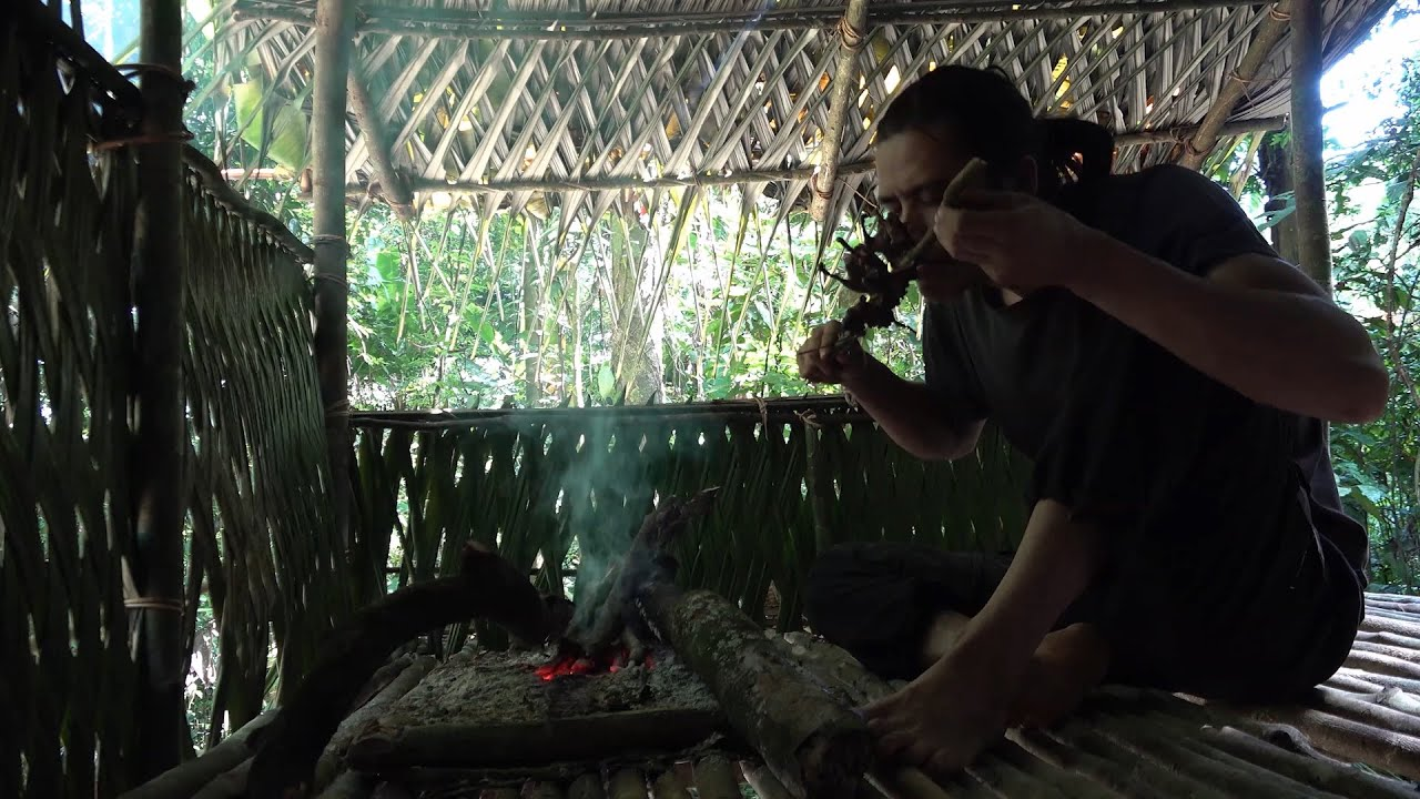 【Man and Machete】Six months of survival in the tropical rainforest, episode 12