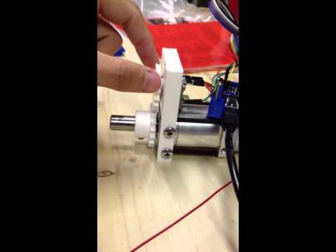 DIY Servo Test Gear Driven MRE